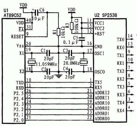 单片机的串行口扩展方法[图]