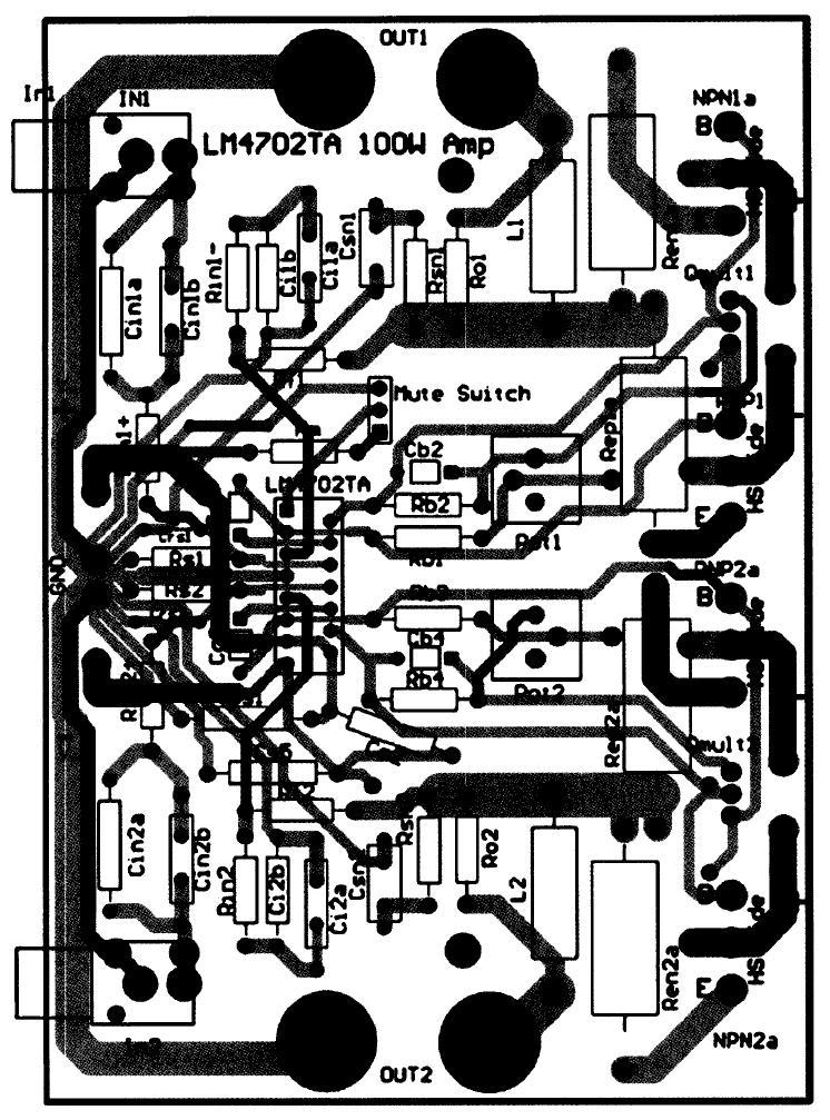 lm4702放大器中的一个外部vbe乘法器电路设置