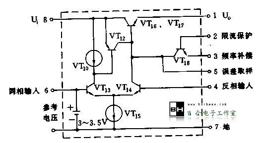 关于五端稳压集成块型号pq1cg303的配合集成块