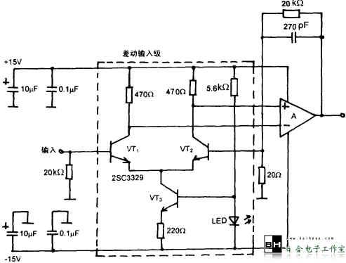 低噪声磁头放大器电路-百合电子工作室