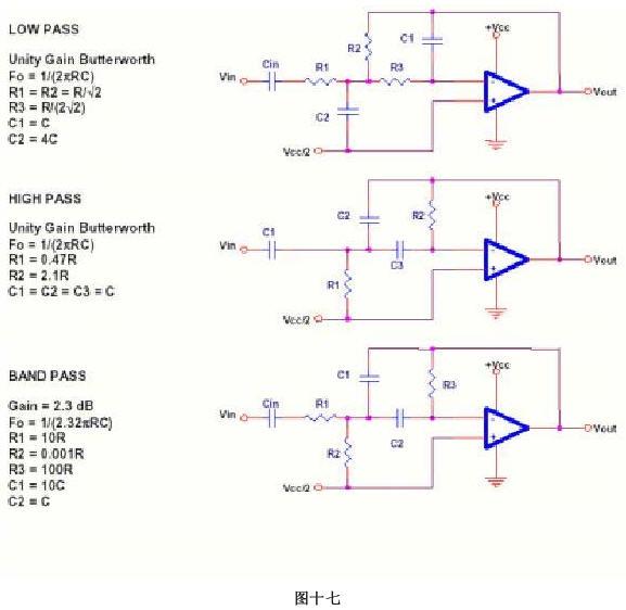 单电源运放振荡电路
