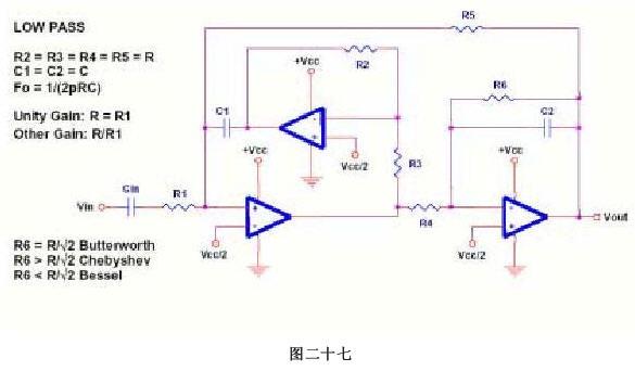 运放单电源供电应用图集