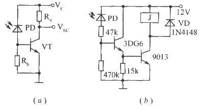 光敏二极管应用电路实例